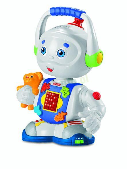 fisher price ucz cy robot tobi m7498 zabawki dla dziecka. Black Bedroom Furniture Sets. Home Design Ideas